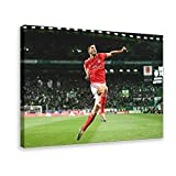 Póster de fútbol portugués Rúben Dias Manchester City Football Club Defender Style 5 Lienzo para decoración de la sala de estar, dormitorio, marcos de 40 x 60 cm