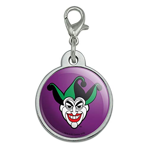 GRAPHICS & MORE Batman Joker Symbol Chrome Plated Metal Pet Dog Cat ID Tag