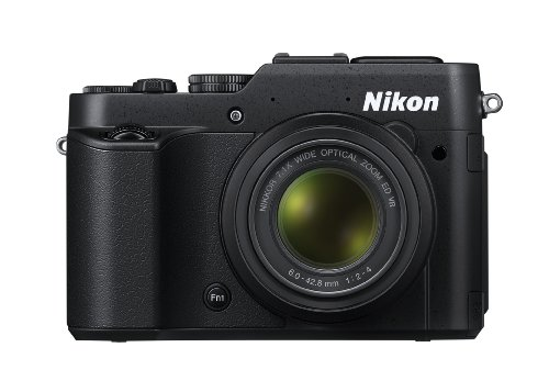 Nikon Coolpix P7800 Digitalkamera (12 Megapixel, 7-Fach Opt. Zoom, 7,5 cm (3 Zoll) RGBW-LCD-Display, Full-HD-Video, bildstabilisiert) schwarz