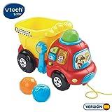 VTech-80-166522 Camión Interactivo con luz y Sonido, 22.9 x 21.6 x...