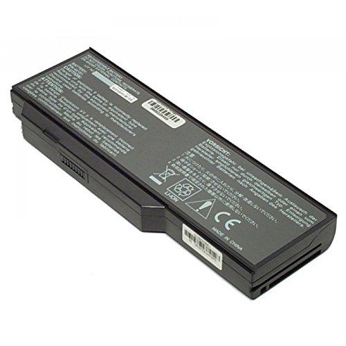 MTXtec Batterie Haute capacité, LiIon, 10.8V, 6600mAh, Noir pour Medion Akoya P7610 MD97042