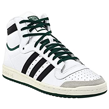 adidas Mens Ten Hi High Sneakers Shoes Casual - White - Size 8 D