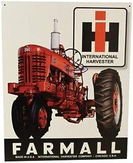 Metal Tractor Sign - Farmall IH 400, 12.5