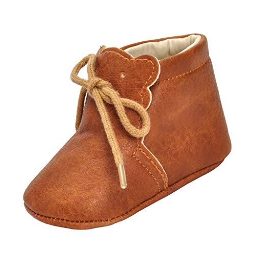 Zapatos de Bebes Prewalker Primeros Pasos Accesorio de Regalo de Mesa Comedor Viaje - como la imagen, 13cm para 9-12M