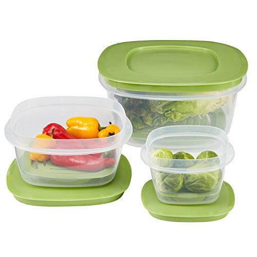 Rubbermaid Produce Saver Food Storage Containers, Set of 6 1861051