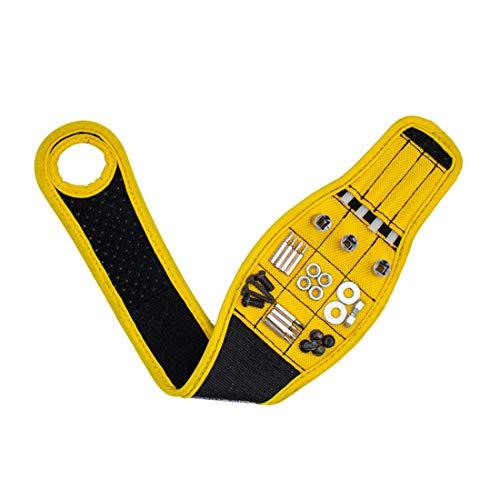 SHENAISHIREN Regalos magnéticos de la pulsera, herramienta de regalos para los hombres de pulsera de herramientas magnéticas, pulsera magnética para retener los tornillos Tornillos ECT, Gadgets Regalo