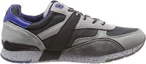 Napapijri Footwear Herren RABARI Sneaker, Grau (Medium Grey N807), 42 EU