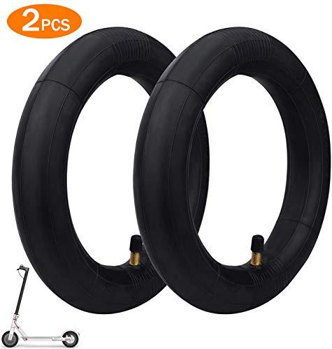 Oladwolf Innenreifen, 2 PCS Elektro Scooter Reifen für Xiaomi M365, Dicker und verschleißfeste für Xiaomi Mijia Roller mit Luftreifen 8 1/2 x2