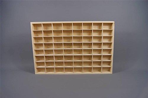 DECOCRAFT (PD14XL) Display Shelves Plain Wooden Display Unit Trinket Shelf Toy Storage