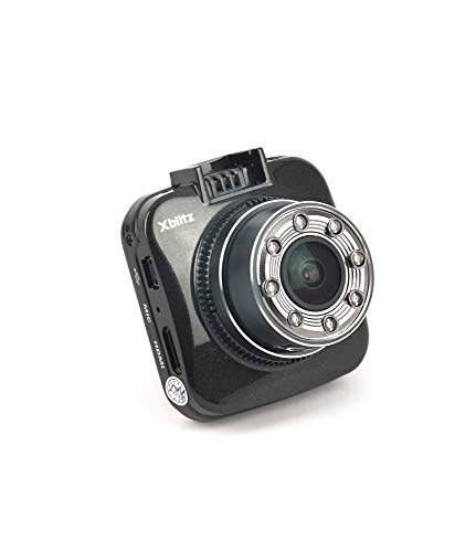 Xblitz GO SE, 4x digitale zoom, Sony IMX323, G-sensor, groothoeklens 170 graden, 1920 x 1080P zwart