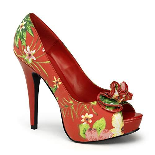 Pinup Couture Lolita-11 - sexy zapatos de tacón alto mujer retro plataforma - tamaño 35-42, US-Damen:EU-38/US-8/UK-5