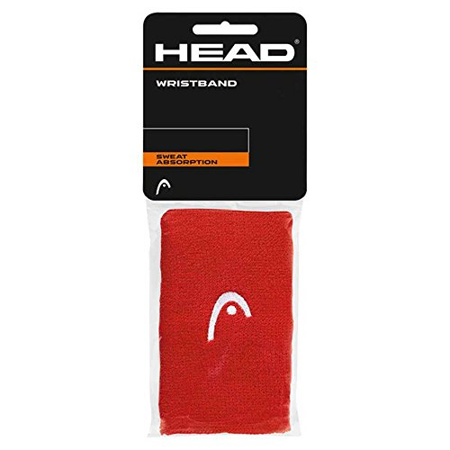 Head 5 - Muñequera, Unisex Adulto, Color Rojo, tamaño