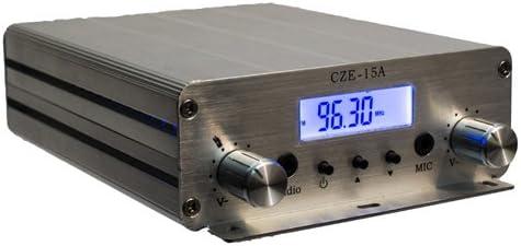 Fail-Safe 15 W Long Range Professional FM Transmitter CZH-15A + Free 1/4 Wave GP Antenna