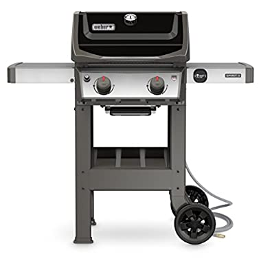 Weber 48010001 Spirit II E-210 Gas Grill NG Outdoor, Black
