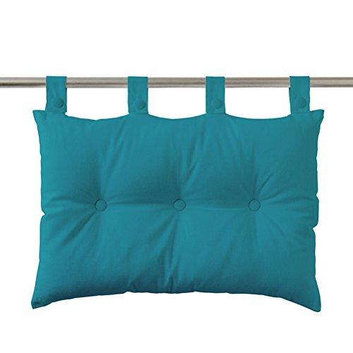 Today Tête de Lit Bleu Turquoise 70 x 50 cm