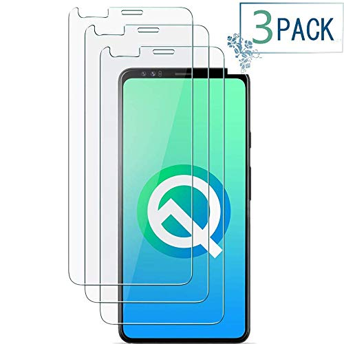 Mighty Compatible [3 - Pack] Google Pixel 4 XL Tempered Glass Screen Protector,[9H Hardness][Anti-Scratch] [Anti-Fingerprint][3D Curved] Screen Protector for Google Pixel 4 XL (Clear)