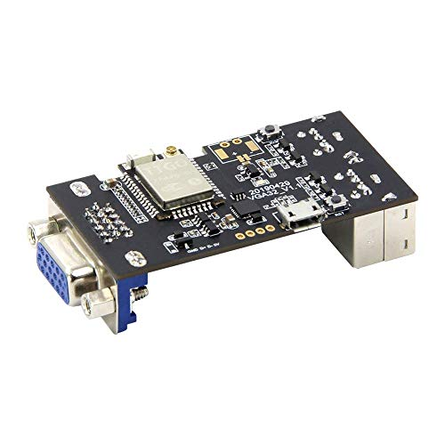 ICQUANZX VGA32-Controller PS / 2-Maus und -Tastatur-Controller-Grafikbibliothek Game Engine und ANSI/VT-Terminal für den ESP32