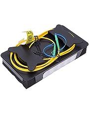 Cable de extensión de prueba OTDR Modo único 500M, LC/APC-LC/APC Cable de lanzamiento de prueba de fibra óptica Modo único 500M con caja de almacenamiento