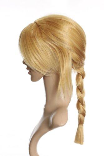 Prettyland Fullmetal alchimiste EDWARD ELRIC longue tresse perruque blonde C317