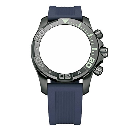 Victorinox Swiss Army Dive Master 500 Navy Blue Genuine Rubber Strap Diver Watch Band 22mm