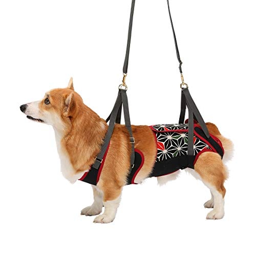 トンボ『歩行補助ハーネスLaLaWalk中型犬・コーギー用KABUKI(2TC0020-09)』