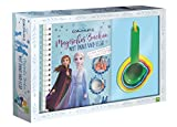 Die Eiskönigin 2: Magisches Backen mit Anna und Elsa: Back-Set für Kinder mit Rezeptbuch und 5 Messbechern