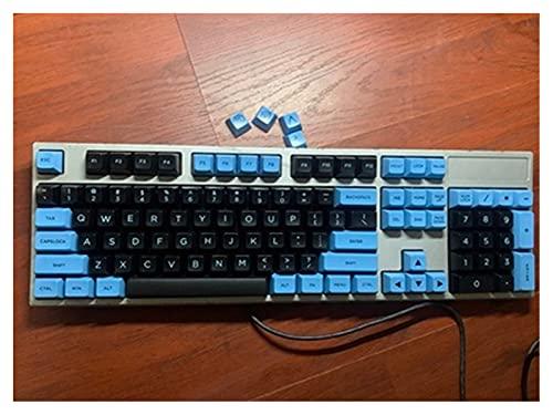 SLFDXDP keycaps 1 Set KeyCap para Los Interruptores MX Teclado Mecánico (Color : 104 Keys)