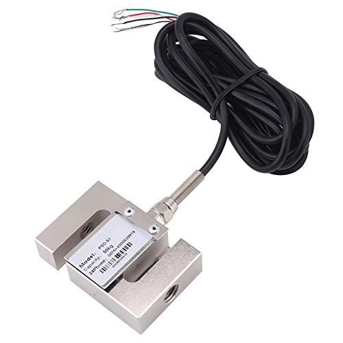 Sensor de ponderación, sensor de báscula de celda de carga de alta precisión tipo S con cable para báscula de cocina, báscula de baño para el cuerpo humano, báscula para joyería(50kg)