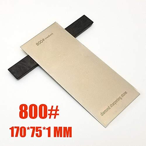 Whetstone Plate Diamond Sharpener Polish Square Whetstone Sharpening Stone Plate Polishing Tool 1mm Thick 1000# 150 * 50 * 1mm