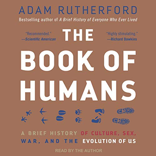 The Book of Humans Audiobook By Adam Rutherford cover art