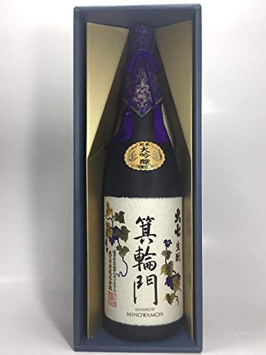 クック誇り蜂大七酒造(株) 大七 箕輪門 純米大吟醸 1800ml/福島 e541