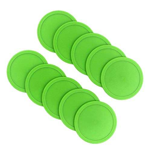 Review CLISPEED Air Hockey Pucks and Pushers Goal Handles Paddles Replacement for Game Tables Equipm...
