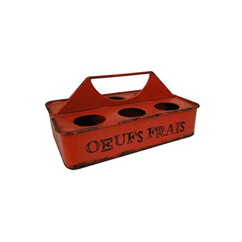 Antic Line - Porte œufs Rouge Œufs Frais