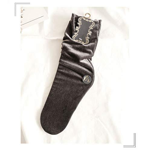 MNBVC Mode Herbst Winter Frauen Socken Street Snap Stretch Lady Socken