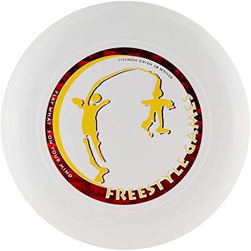 Discraft Skystyler 160g Freestyle Games Frisbee Trickscheibe WEISS