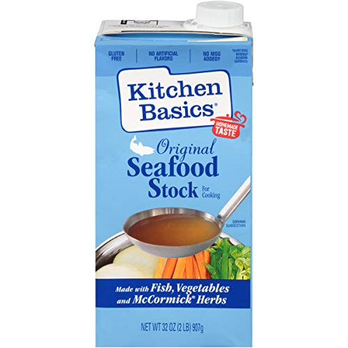Kitchen Basics Original Seafood Stock, 32 fl oz ( Pack of 12 )