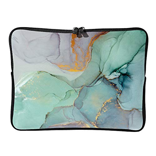 Laptop bags marbling casual standard reusable - pattern tablet cases suitable for commuters.