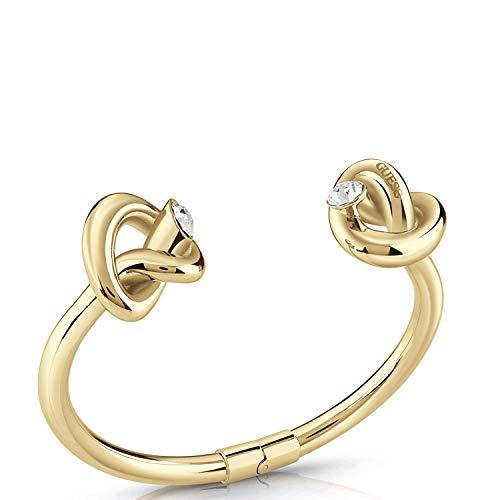 Guess Damen-Armreif DOUBLE KNOT Edelstahl One Size Gold 32011719