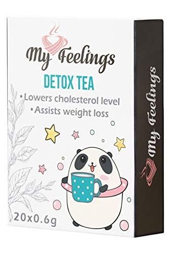 My Feelings Detox-Tee - Pulverextrakt, 20 Sticks x 0,6 g