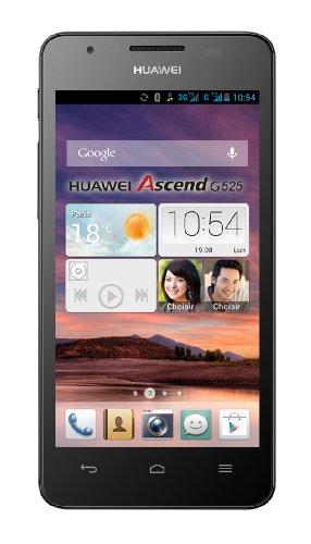 Huawei Ascend G525 Dual-SIM Smartphone (11,4 cm (4,5 Zoll) Bildschirm, 5 Megapixelkamera, 4 GB Interner Speicher, Android 4.1) schwarz