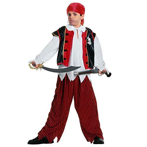 Widmann 38476 kinderkostuum schateiland piraat 128 multicolor