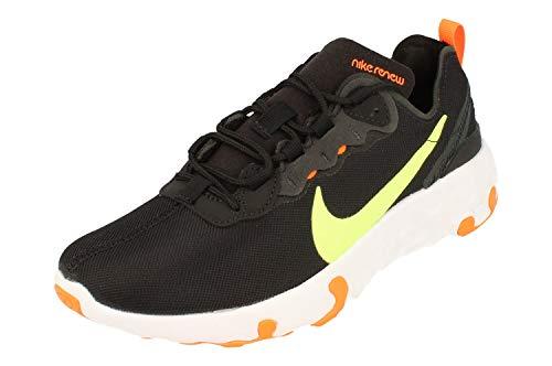 Nike Renew Element 55 GS Running Formatori CV9644 Scarpe Da Ginnastica, nero (Nero Fantasma Verde Totale Arancione 001), 39 EU