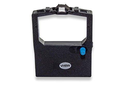 vhbw Cinta de nailon de tinta compatible con OKI Microline ML-321, ML-3320, ML-3321, ML-390, ML-5320 como 9002303; impresora matricial