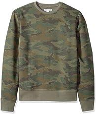 Amazon Essentials Men's Long-Sleeve Crewneck Fleece Sweatshirt, Camo, XX-Large