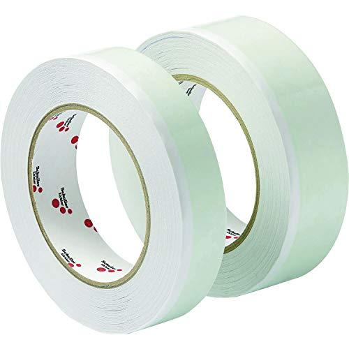 SCHULLER doppelseitiges Klebenband UV | Twin Tape UV | 25 mm x 25 m | 1 Rolle