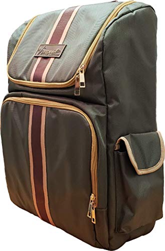 Vincent Master Backpack Travel Stylist Barber Bag (Green)