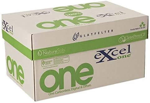 8.5 x 11 Excel One Carbonless Part Financial sales Oakland Mall sale Bright 2 Reverse Whit Paper