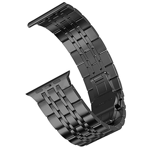 Supore Cinturino Apple Watch Compatibile Apple Watch 44mm 40mm 38mm 42mm, Alta qualità Acciaio Inossidabile Cinturino di Ricambio, Compatibile con Cinturini per Apple Watch SE/iWatch Serie 6 5 4 3 2 1