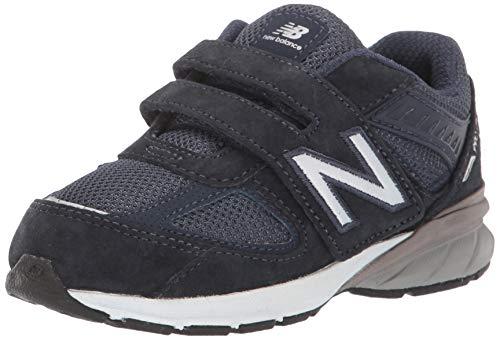 New Balance Kids' 990v5 Hook and Loop Running Shoe