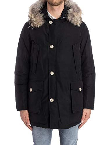 WOOLRICH Herren Arctic DF Parka, Schwarz (New Black NBL), Medium